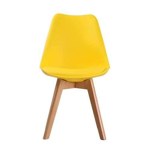 AXE CH119 (2) Yellow  Chairs From Denelli (2)